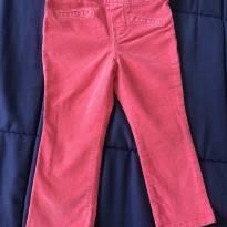 Calça veludo - OshKosh - Pink - 18 meses - OshKosh