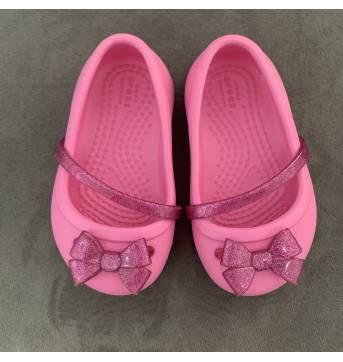 Sapatinho Crocs - Rosa - C4 - 19 - Crocs