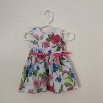 Vestido Carter`s - Florido - 3 meses - Carter`s