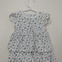 Vestido + Chapeu - René Rofé Baby - 3 a 6 meses - René Rofé baby