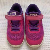 Tênis Nike - 8C - roxo/rosa - 23 - Nike