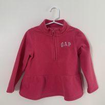 Blusa GAP - fleece - pink - 3 anos - Baby Gap e GAP