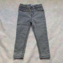 Calça Jeans - Denim Co - Cinza - 18 a 24 meses - Não informada
