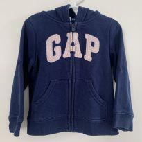 Casaco Moletom - GAP - Azul Marinho - 3 anos - Baby Gap e GAP