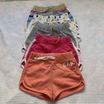 Kit 5 shorts - GAP - 2 anos - Baby Gap e GAP