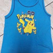 Camiseta Regata Masc Pokémon Go! Tam 8