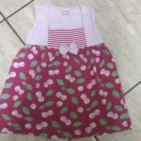 Vestido Floral em Malha For Girl Tam 3 - 3 anos - For Girl