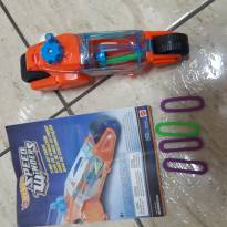 Hot Wheels Speed Winders Moto de Giro Laranja - Mattel