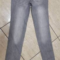 calça jeans fem look jeans tam 14 - 14 anos - Look jeans