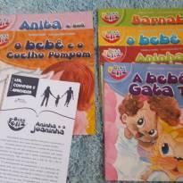 Coleção Bebê Feliz - 6 livros infantis ilustrados -  - Não informada