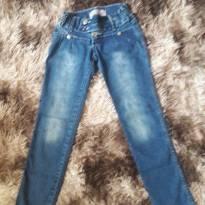 Calça Jeans Fem Helô jeans Tam 10/12 - 12 anos - Não informada