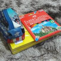 Kit Escolar Ensino Fundamental -  - Diversas