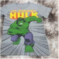 Camiseta Masc Manga Curta Tam 10 - 8 anos - Não informada