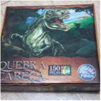 Quebra Cabeça 150 peças Dinossauro Pais e Filhos -  - pais e filhos