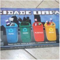 Jogo Educativo Cidade Limpa Nig Brinquedos -  - Nig