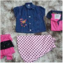 Lote roupas Fem Tam 6 - 6 anos - Diversas
