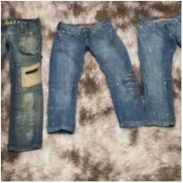 lote calças jeans masc tam 36