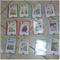 coleção de livros infantis 12 provérbios e suas histórias -  - Não informada