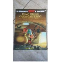 livro infantil como obelix caiu no caldeirão -  - Editora Record