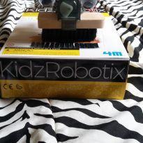 Kit de Robótica Educacional STEAM Education Robô escova Kidz Robotics 4M