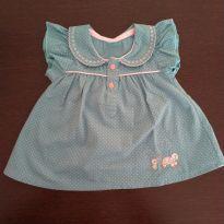 Blusinha algodão - 6 meses - Sem marca