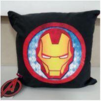 almofada iron man - duas faces -  - Não informada
