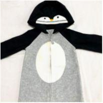 Macacão Carters Pinguim - Menino 9 meses - Carter`s - 9 meses - Carter`s