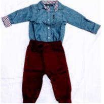 Conjuntinho Infantil Menino Ben Sherman - 12 meses - 1 ano - S/M