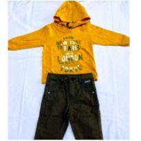 Conjunto Infantil Menino NEW YORK - 3 a 6 meses - S/M