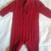 Macacao de tricô - 3 a 6 meses - Baby Gap