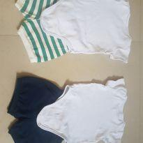 Conjunto body - 6 a 9 meses - Club B