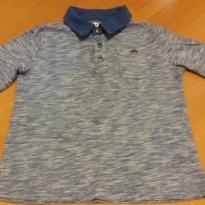 Camisa Polo manga longa Gap - 2 anos - Baby Gap