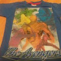 Camiseta vingadores - 4 anos - marisa