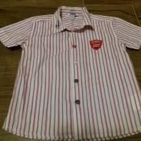 Camisa listradinha Chicco - 3 anos - Chicco
