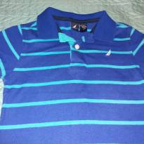 Camisa polo listrada Náutica - 4 anos - Nautica