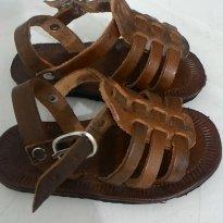 Sandália de couro Artesanal - 19 - Artesanal