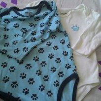 KIt 2 Bodys Baby Way - 9 a 12 meses - Baby Way