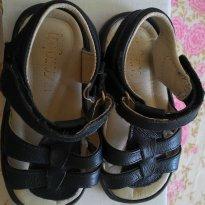 Sandália em Couro Infants - 21 - Infants