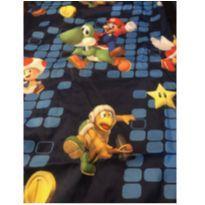 3 Jogos de lençol e cortina Super Mario Bros -  - Não informada