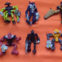 6 Personagens Bionicle -  - Mc Donald`s