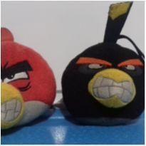 2 pelúcias Angry Bird -  - Mc Donald`s