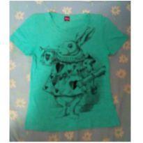 camisa coelho do filme alice no pais das maravilhas em ótimo estado - Único - Disney