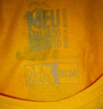 camisa minions piticas (blm) M - Único - Piticas