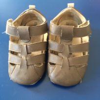 Sandália de tiras marrom - 20 - Baby