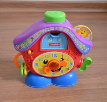 3c8eae7a20f Relógio cuco Fisher Price no Ficou Pequeno - Desapegos de Brinquedos ...