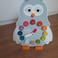 Brinquedo educativo de madeira marca Janod (França) -  - Não informada
