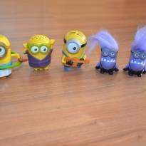 Bonequinhos dos Minions - Mc Lanche Feliz -  - Mc Donald