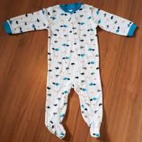 Macacão de Bebê Carters 6Meses - 6 meses - CARTERS/TIPTOP/ZARA