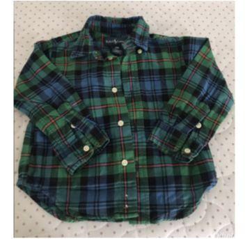 Camisa Ralph Lauren infantil - 18 meses - Ralph Lauren