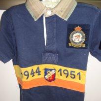 Camiseta Polo Ralph Lauren com gola em tecido - 3 anos - Ralph Lauren